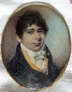 Charles Eamer miniature
